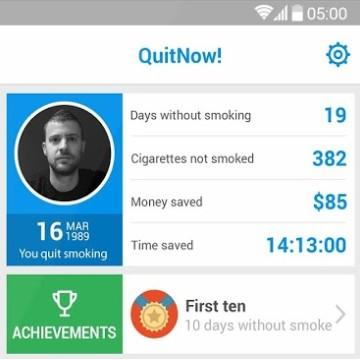 android leszokott a dohányzásról