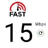 FAST Speed Test - internet sebességmérő ( Android alkalmazások )