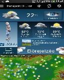 Időkép mobil - időjárás előrejelzés (Android app.)