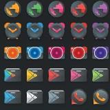 Moonrise Icon Pack - ikonkészlet ( Android alkalmazások )
