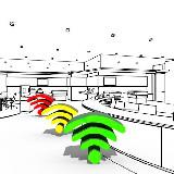 WiFi jelerősség – WiFi AR (Android app.)