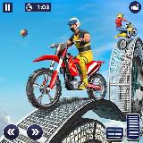 Motoros kaszkadőr játék (Android app.)