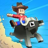 Szafari ügyességi játék - Rodeo Stampede (Android app.)