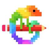 Pixelszínező alkalmazás - Pixel Art (Android app.)