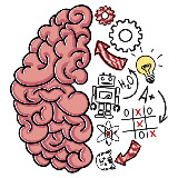 Okossági játék - Brain Test (Android app.)