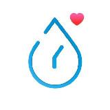 Vízivásra emlékeztető app. - Drink Water (iPhone app.)