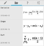 Equation editor - egyenletszerkesztő (Android alkalmazás)