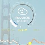 Plume Air Report – légszennyezettség ( Apple mobile )