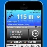 Altimeter GPS - magasságmérő (iPhone alkalmazások)